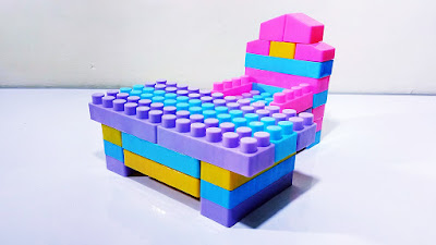 Diy How To Build Table And Chair Toys From Lego Blocks