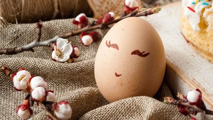 Ovo Engraçado, Páscoa, Feriado