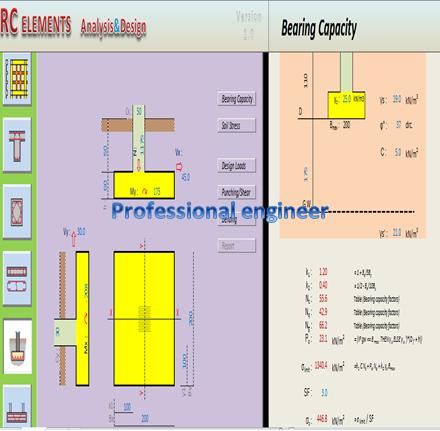design spread footing
