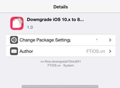 How to downgrade iOS 10-10 3 3 to iOS 8 4 1 [No Activation