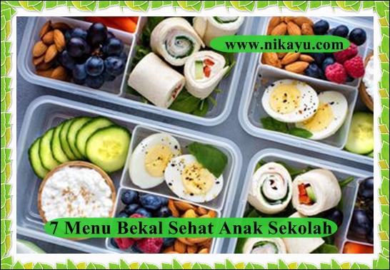 7 Menu Bekal Makanan Sehat, Anak Sekolah Saat Masuk New Normal