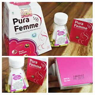 Suplemen Payudara Pura Femme
