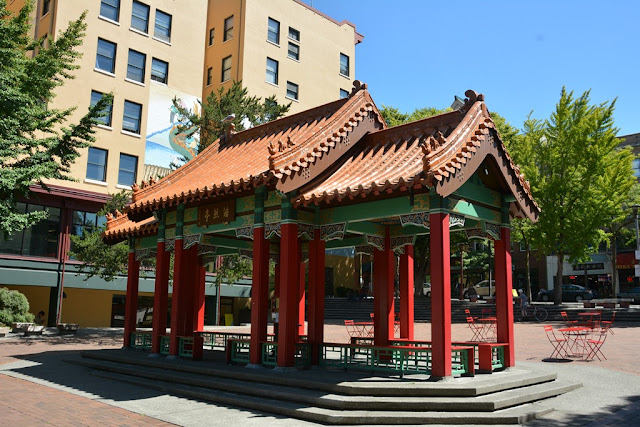 Chinatown Seattle temple