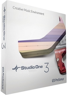 PreSonus Studio One 3 Professional v3.3.4 poster box cover