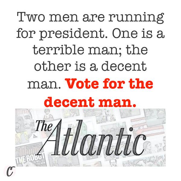 The Atlantic Endorses Joe Biden