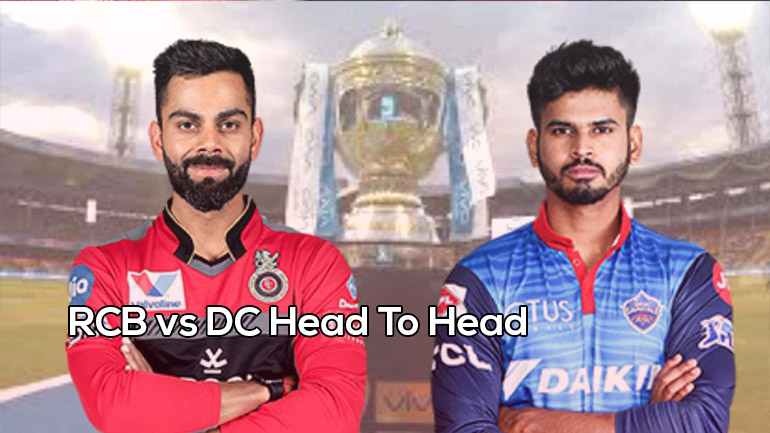 RCB v DC Head To Head (H2H) Records | Matches | IPL | Stats