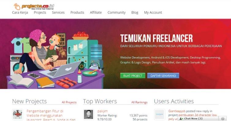Pengalaman Yang Bisa Diaplikasikan Untuk Mendapat Job Freelance di Project.co.id