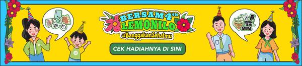 Anniversary Lemonilo ke-4, Ria Ricis Umumkan Giveaway berhadiah Sepeda Brompton dan Iphone