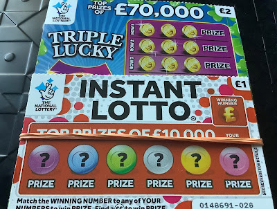 £1 Instant Lotto Scratchcard
