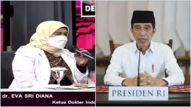 Jokowi Klaim Kasus Covid-19 Turun, Dokter Eva: Karena Tes Berkurang