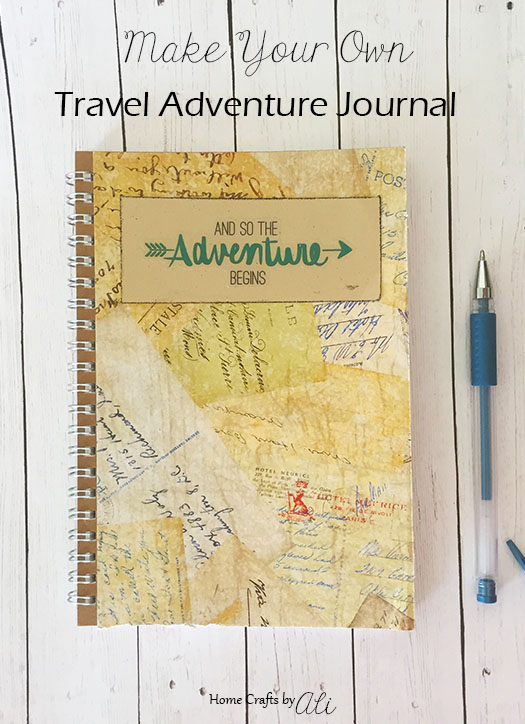 Easy To Make Travel Journal Tutorial