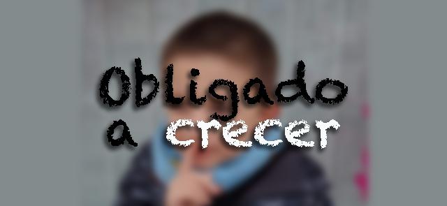 Foto borrosa de El Pequeño Cavernícola con el título del post en primer plano.