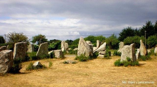 menhires de Kerzerho, Francia
