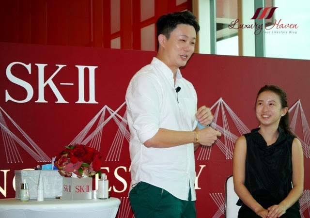 skii auractivator cc cream changi airport event