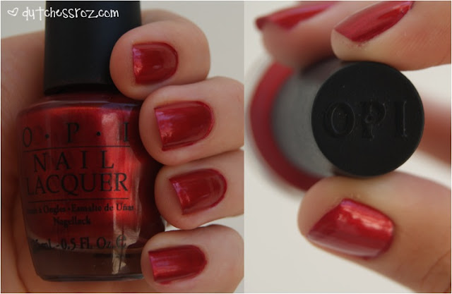 RedNails NOTD: Love is a Racket