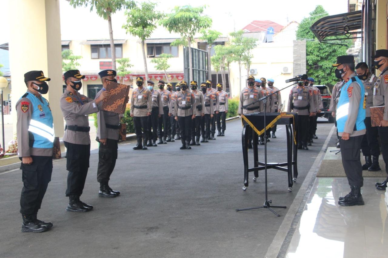 Wakapolda Lampung Brigjend Pol Drs Subiyanto memimpin pelaksanaan Pakta Integritas penyelenggara seleksi Sespimmen Polri Dikreg 61 dan Sespimma Angkatan 65 dan 66 Tahun Anggaran 2021