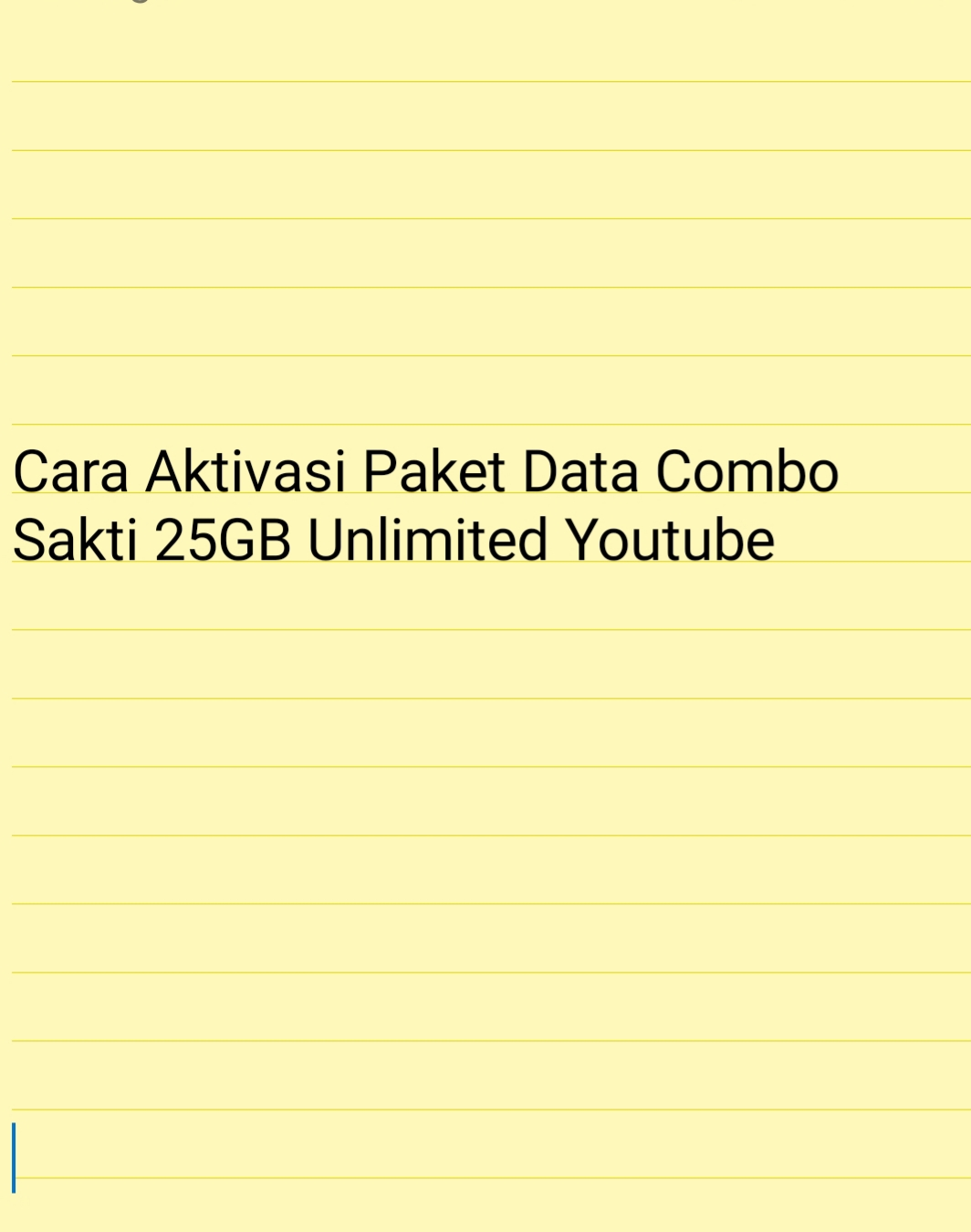 Cara Beli Paket Internet Combo Sakti Telkomsel  Cara Beli Paket Internet Combo Sakti Telkomsel 25GB Unlimited Youtube