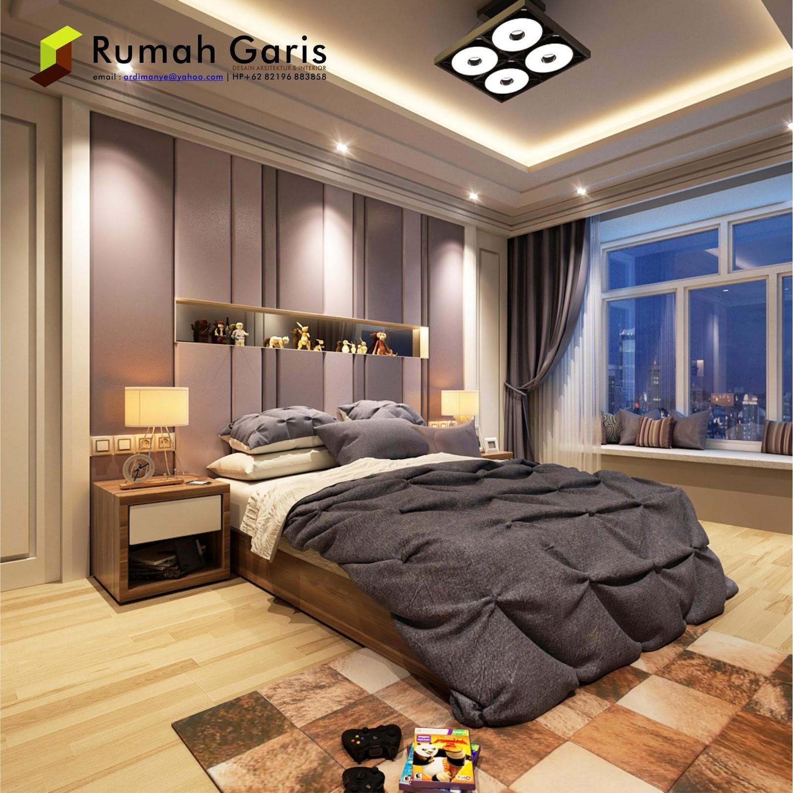 Kumpulan desain interior Kamar Tidur  3D render by RUMAH