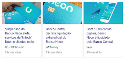 Banco Central Intervenção no Banco Neon