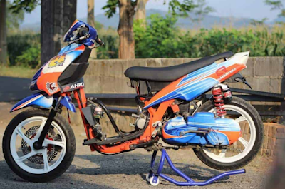 Modifikasi Mio Road Race