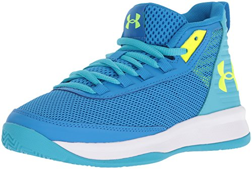 0c530a34 Under Armour Girls' Pre School Jet 2018 Basketball Shoe, Blue Circuit  (400)/Alpine, 2.5 2019