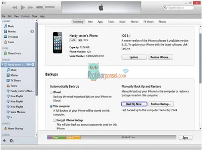 Cara Backup dan Restore iPhone Termudah