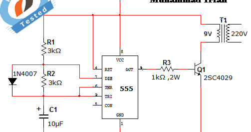 Circuit Diagram For Power Failure Alarm Engineersgarage