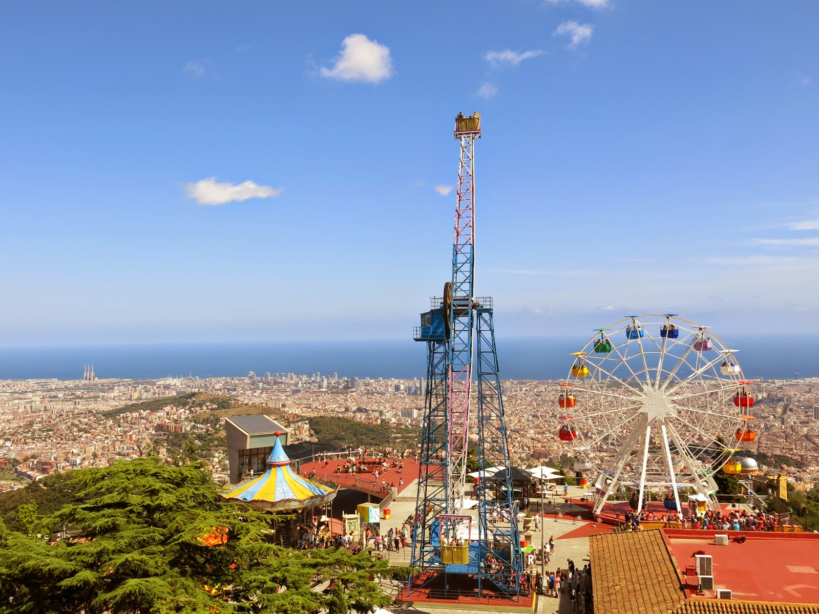Tibidabo i Barcelona