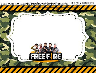 Free Fire: Free Printable Candy Bar Labels.
