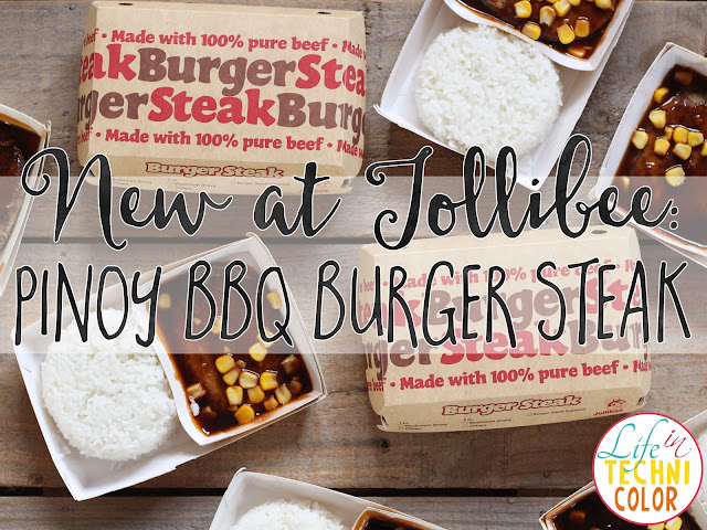 Jollibee Pinoy BBQ Burger Steak