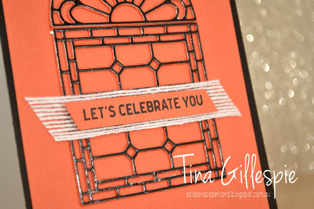 scissorspapercard, Stampin' Up!, Art With Heart, Colour Creations, Itty Bitty Birthdays, Stained Glass Thinlits, Subtle TIEF
