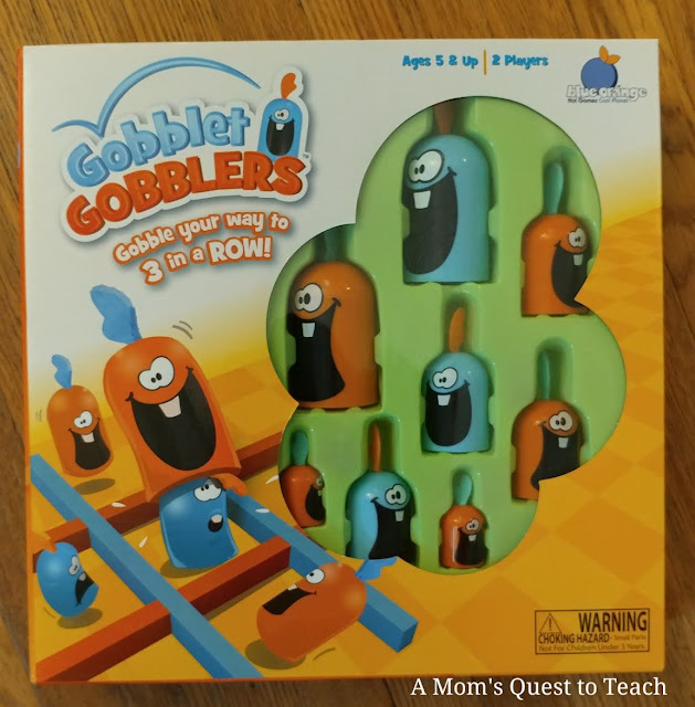 Gobblet Gobblers game box