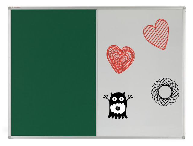 Example of customisable pin board from Teacherboards.co.uk