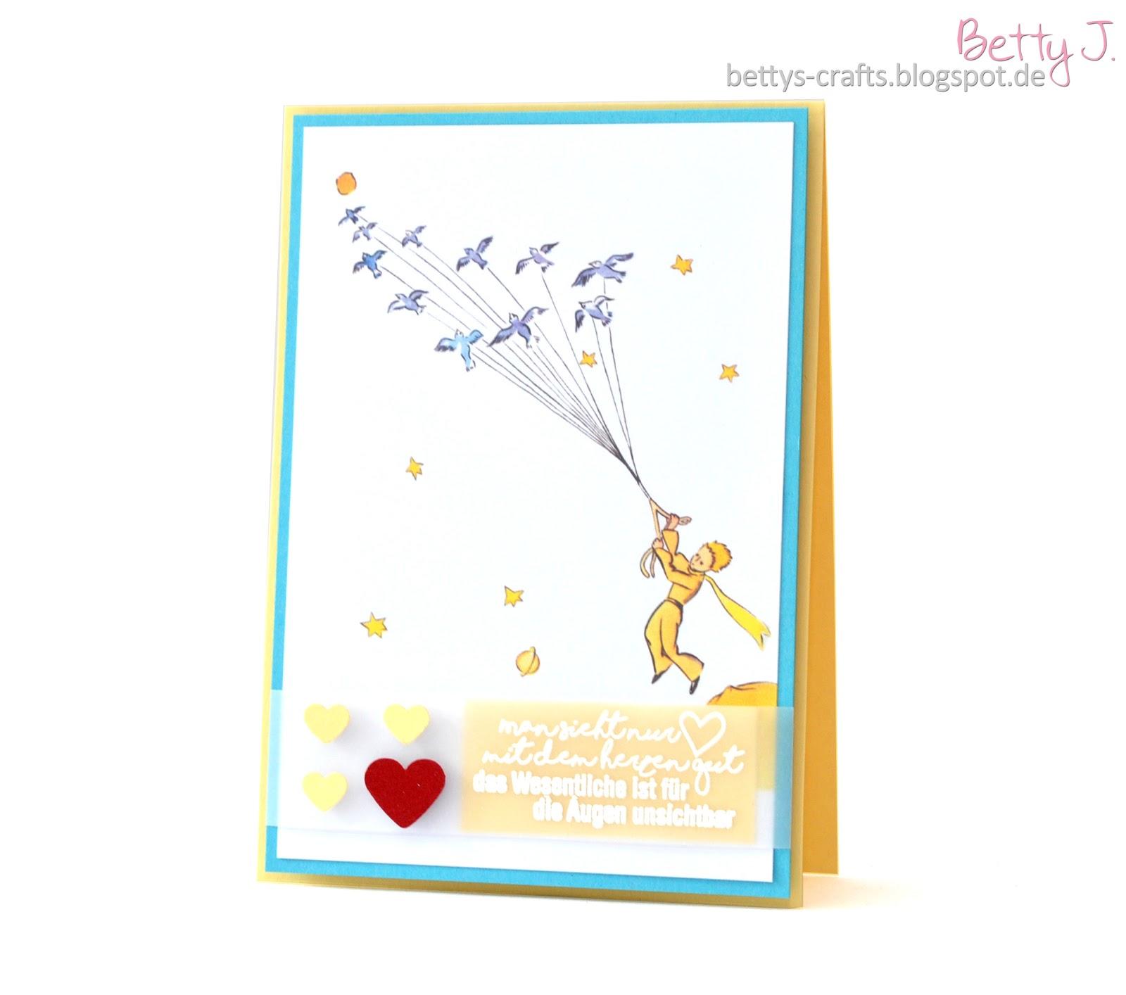 Bettys Crafts Man Sieht Nur Mit Dem Herzen Gut