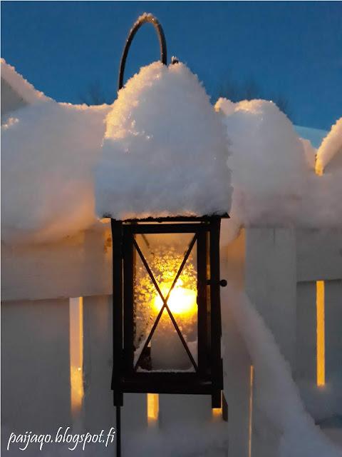 lumilyhty luminen lyhty