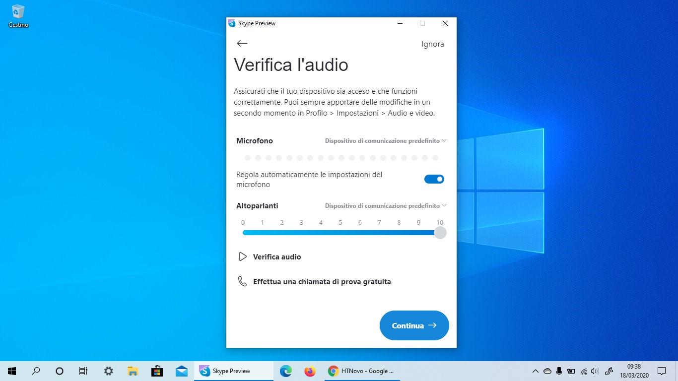 Skype per Windows 10 si aggiorna e non è più UWP