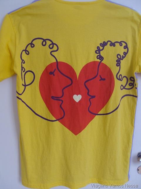 Camiseta do bloco Simpatia Quase Amor 2013