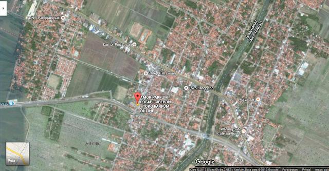 Google Map Amor Parfum Cirebon