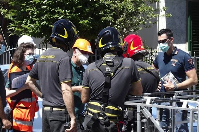 A 56-year-old Albanian worker dies in Italy after falling from the roof