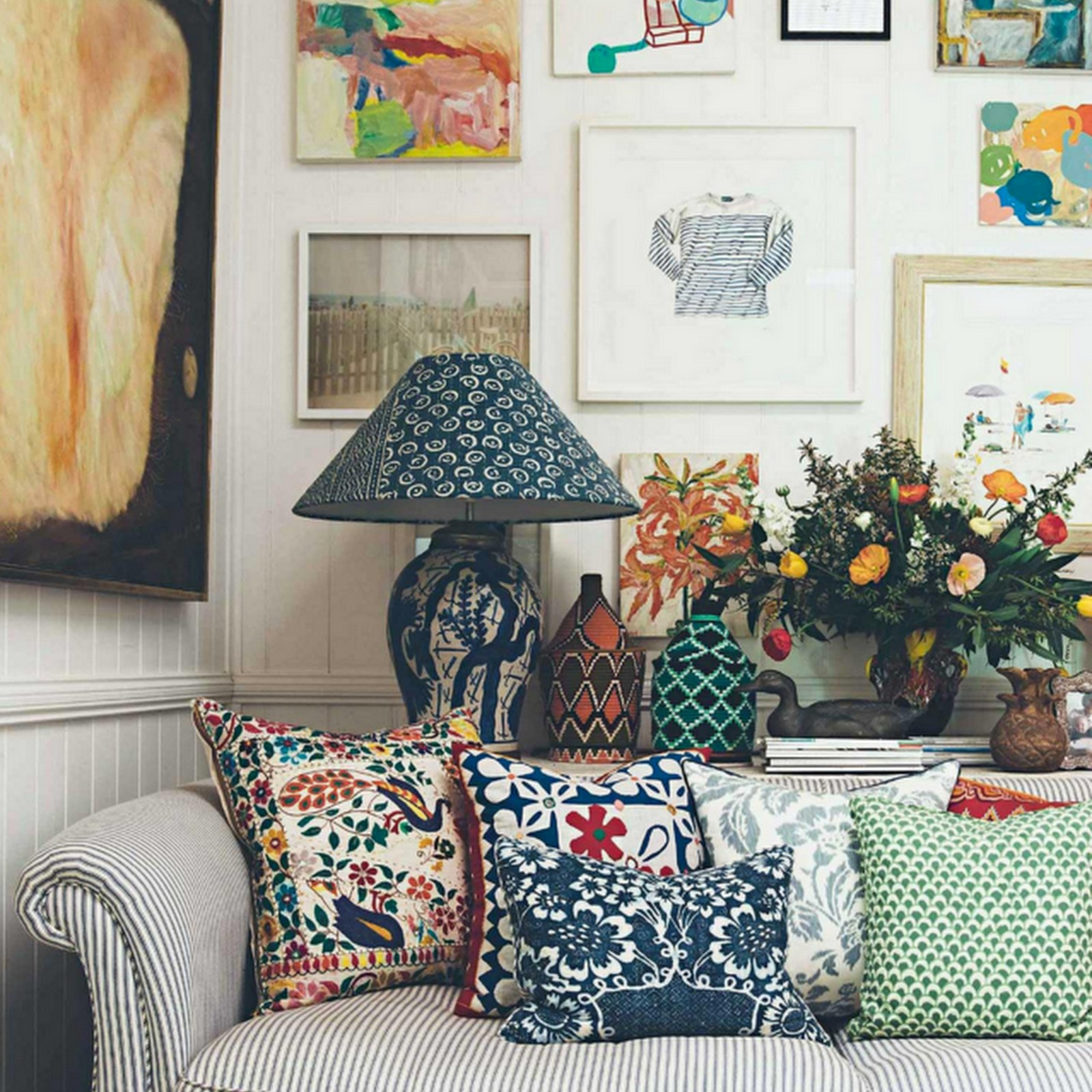 At Home With : Anna Spiro's Colourful