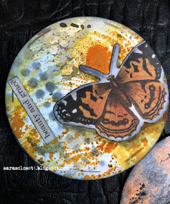 Sara Emily Barker https://sarascloset1.blogspot.com/2020/06/my-butterfly-collection.html Mixed Media AT Coins 4