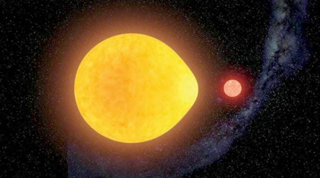 كوكب غريب يمطر حديداً سائلاً ساخناً