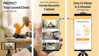 Cara Membuat HP Android Jadi CCTV
