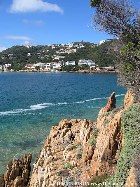 Knysna ocean lagoon rocks village houses south africa the touristin dorothee lefering