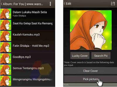 dari seseorang baik itu artis yang menyanyikan lagu tersebut ataupun foto dari seseorang  Cara Mengganti Foto Pada Mp3 di Handphone