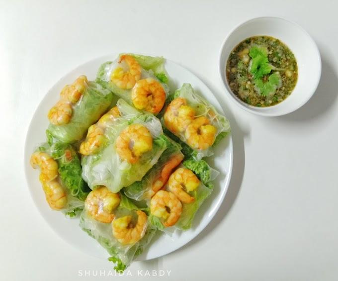 Resepi Vietnam Roll