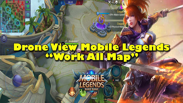 Cara Mengaktifkan Drone View Mobile Legends  Cara Mengaktifkan Drone View Mobile Legends (Work All Map)