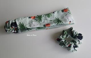 Bulles de Plume DIY Robe tropicale (couture)