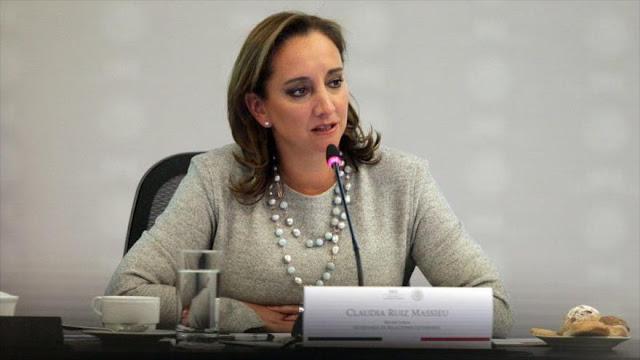 """Canciller mexicana: """"México no roba empleos de EEUU"""" sino ayuda a su desarrollo"""