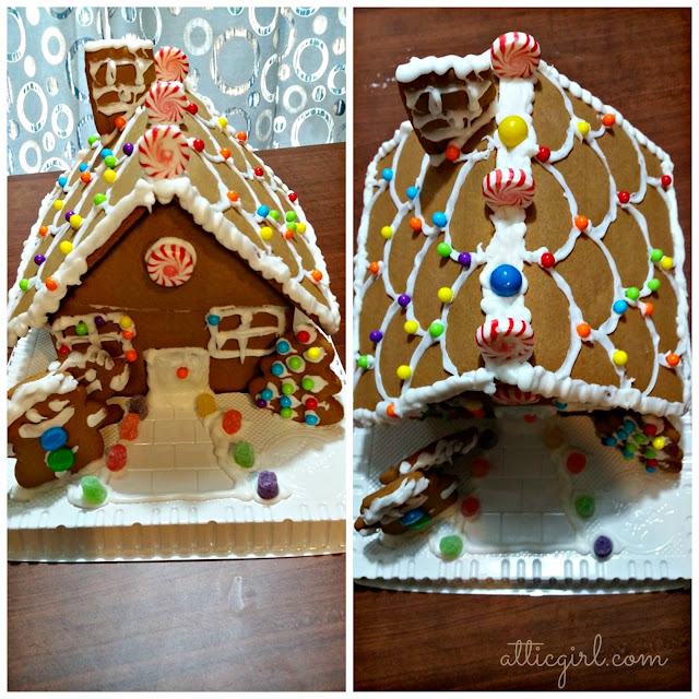 Gingerbread House Decorating with the Doozers